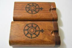 1 Handmade 3 inch Wooden Dugout, Wooden Dugout, With 2 Inch