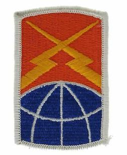 160th Signal Brigade Army 3 Inch Cap Hat Embroidered Patch J