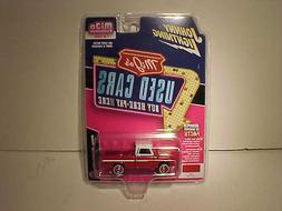 1965 Chevy Pickup Truck 1:64 Johnny Lightning Used Cars 3 in