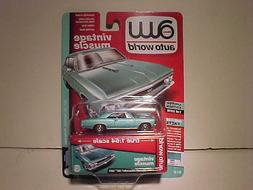 1966 Chevy Chevelle SS Diecast Car 1:64 Auto World Vintage 3