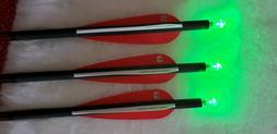 3 Bolts 20 inch Bloodsport Witness with Green lighted nocks