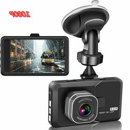 3 Inch Car Driving Recorder Vehicle Camera DVR EDR Dashcam N