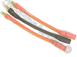 6.5mm Male 6.5mm Female 3 inch 7CM 10AWG Silicon Wire Castle