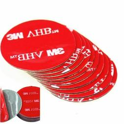 6 pcs Double Sided Adhesive Tape Circle 3 Inch Round 3M Heav