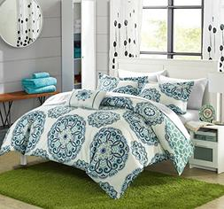 Chic Home Barcelona 8 Piece Reversible Comforter Set Super S