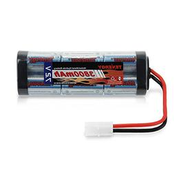 Tenergy 7.2V Battery Pack for RC Car, High Capacity 6-Cell 3