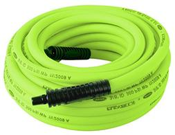 Flexzilla Air Hose, 3/8 in. x 50 ft, 1/4 in. MNPT Fittings,