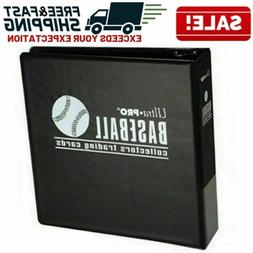 Baseball Card Album Trading Collector Storage Diplay 3 Inch