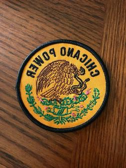 """Chicano Power - 3"""" inch Patch"""