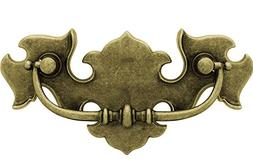 Chippendale Antique English Bail Drawer Pull Handle Centers: