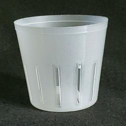 Clear Plastic Orchid Pot - Round 3 inch Diameter