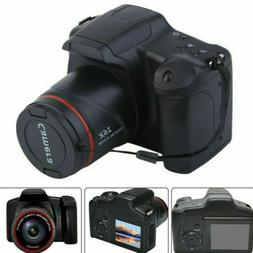 Digital Camera 3 Inch TFT LCD Screen HD 16MP 1080P 16X Zoom