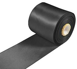 "Black Ribbon for Crafts - Hipgirl 3"" Wholesale Bulk Double F"