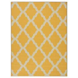 Ottomanson Glamour Collection Contemporary Moroccan Trellis
