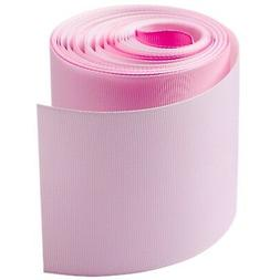New Style Grosgrain Ribbons 3 Inch Width,5 Yards Pink Color