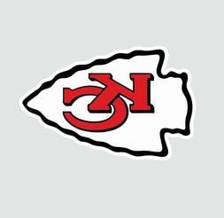 Kansas City KC Chiefs NFL Football Color Logo Sports Decal S