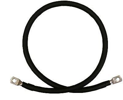 2 AWG Gauge Black Copper Battery Cables RV, Boat,