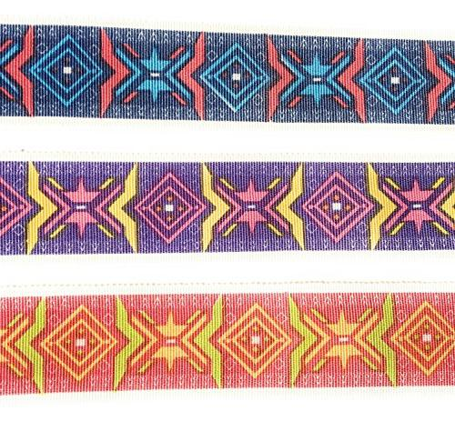 """1.5'"""" 6 Rayon For Sewing, Gift Wrapping, Hair Crafting, Decor, Baby Shower-Designer Ribbons)"""