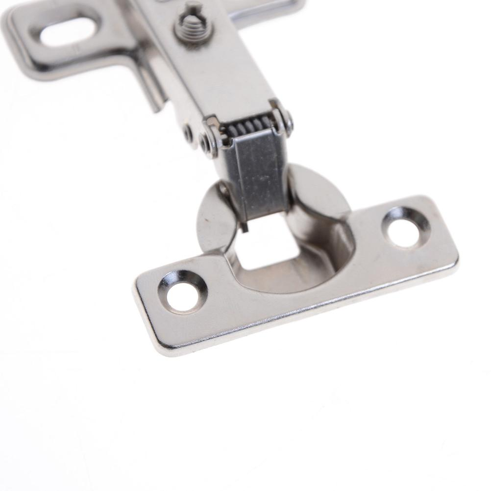 1 PCS No-Drilling Hinge Spring Full Overlay Cupboard 3Styles