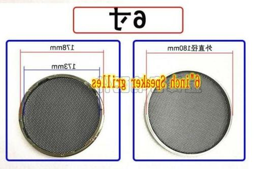 "20# 3""/3.5""/4""/6""/8""inch speaker grilles Car Audio cover Decorative"