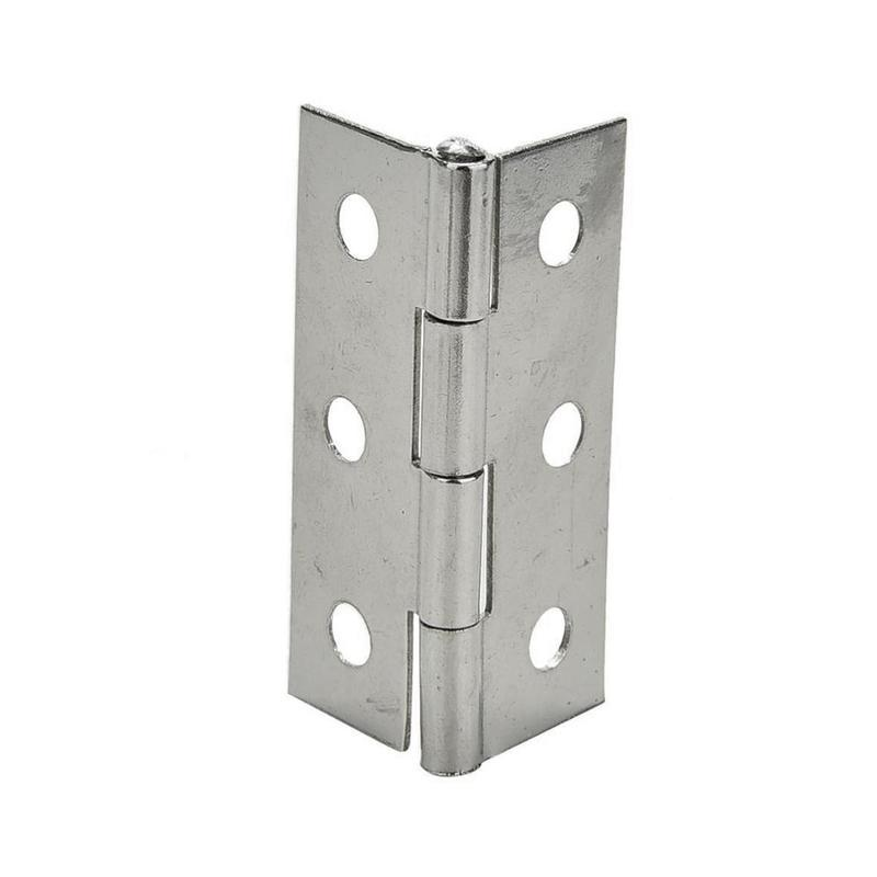 2PCS Stainless Steel Door Butt Hinge Furniture <font><b>Cabinet</b></font>