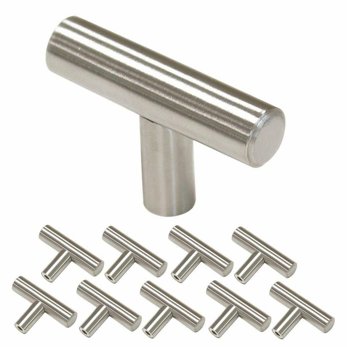 3 inch Cabinet Handles Brushed Nickel 76mm Drawer Pulls Kitc