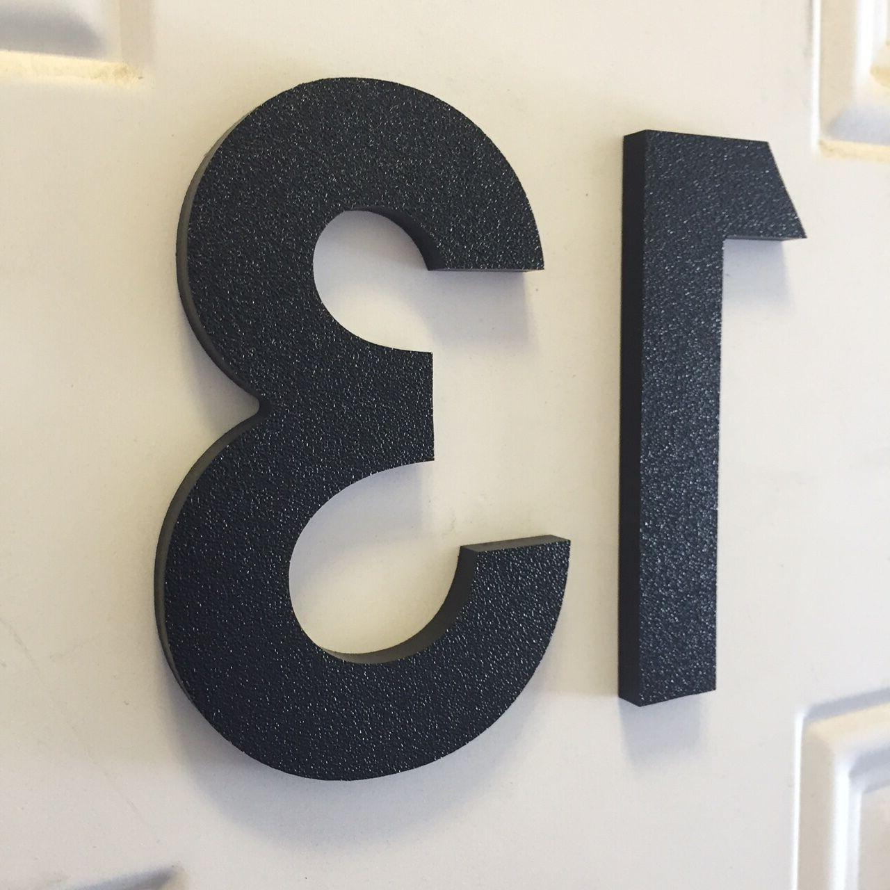 3 inch Magnetic House Numbers Letters for doors, houses, mai