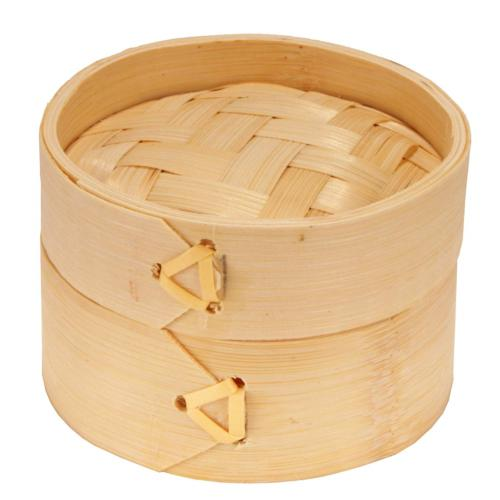 BambooMN 3 Inch Bamboo Sum Steamer Basket Party