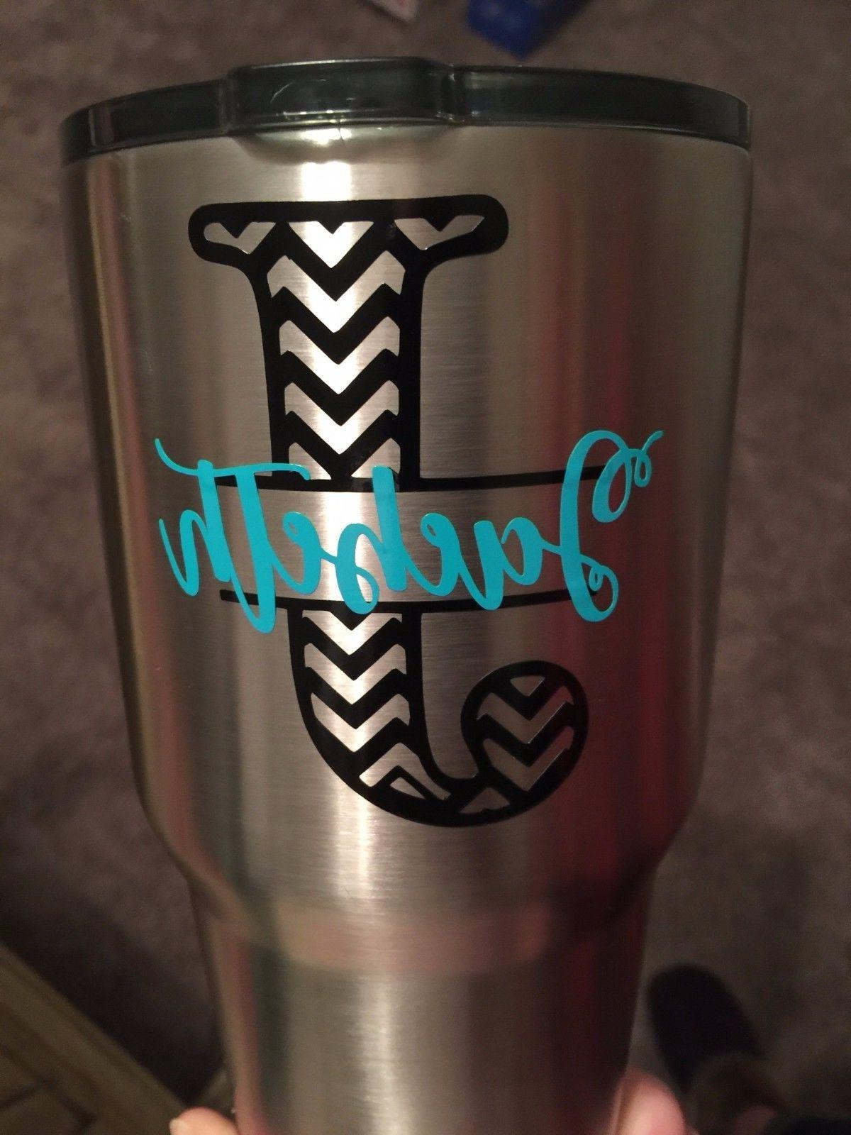 3 Two Chevron Decal Tumbler