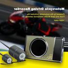 3Inch HD Motorcycle Action Dual Camera Video Recorder Dash C