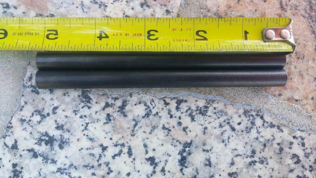 5 inches long 3/8 Lot of two ferro rods