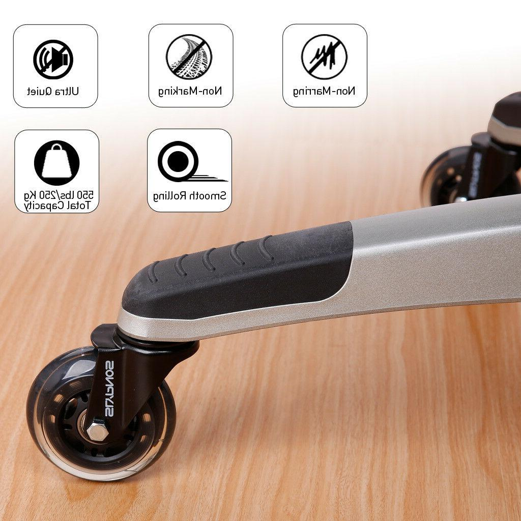 5 Office Rollerblade Style Soft Rollers