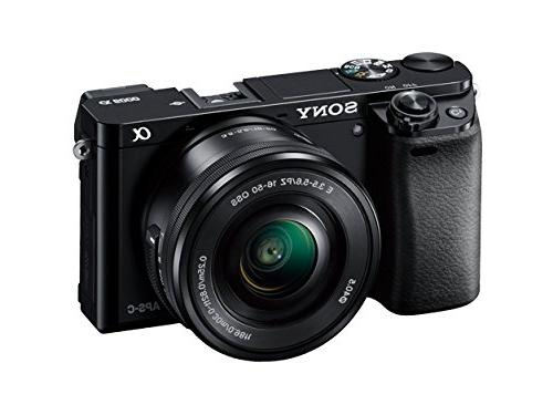 Sony Alpha a6000 Mirrorless Digitial Camera 24.3MP SLR Camer