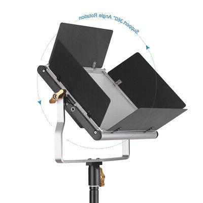 Andoer LED Video and Inches Stand Kit LED Bulbs