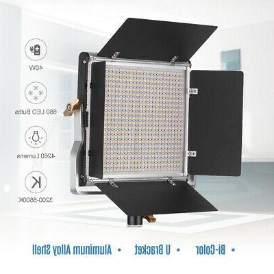 Andoer LED Light and 78.7 Inches Kit