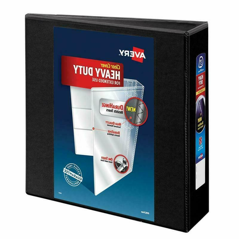 "Avery Heavy-Duty View Binder, 3"" One-Touch Rings, 670-Sheet"