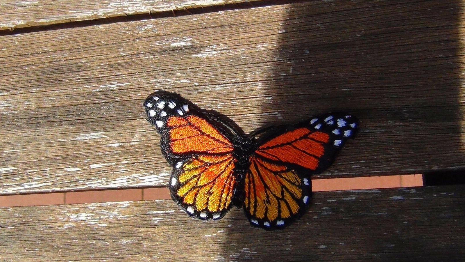 butterfly patches quantity different sew Iron inch x 3/4