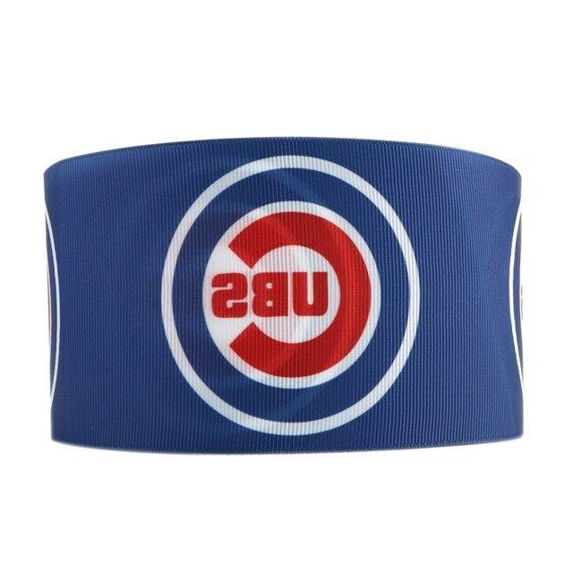chicago cubs baseball 3 inch 3 yards