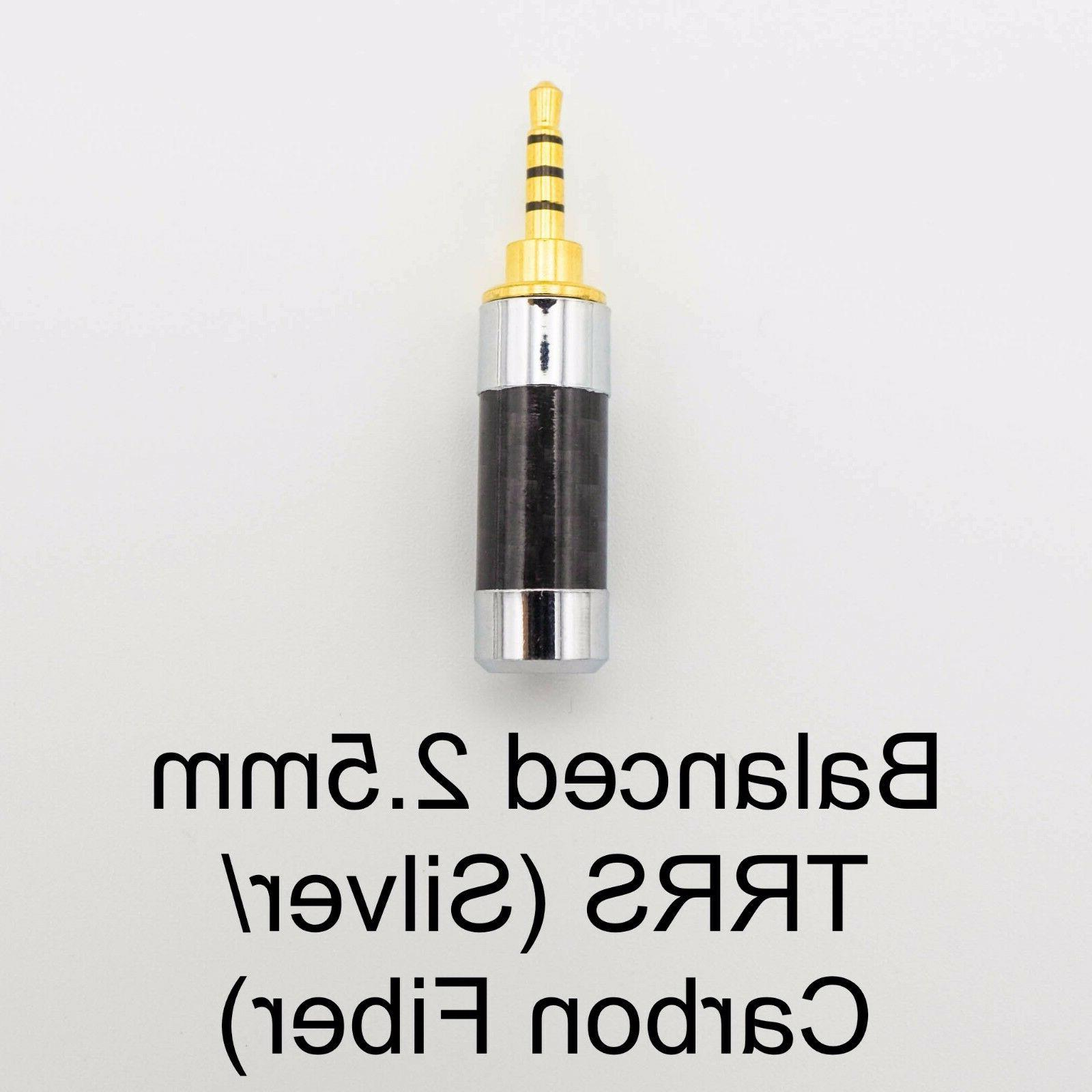 DUAL Pin Male to 2.5mm Balanced Plated &