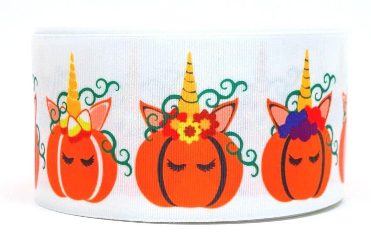 "GROSGRAIN UNICORN 3"" INCH GROSGRAIN RIBBON 1,"