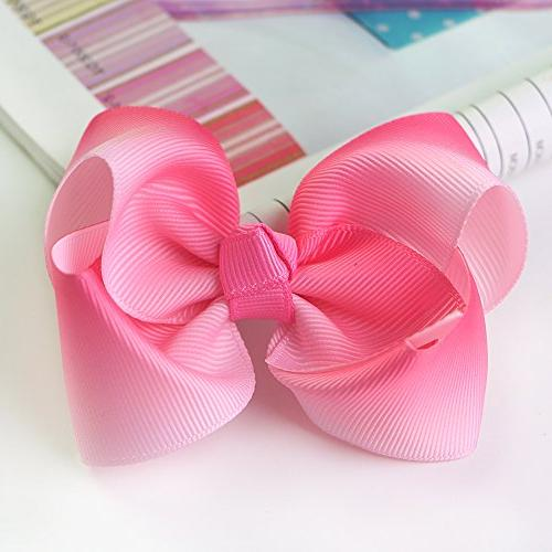 New Ribbons 3 Inch Width,5 Pink