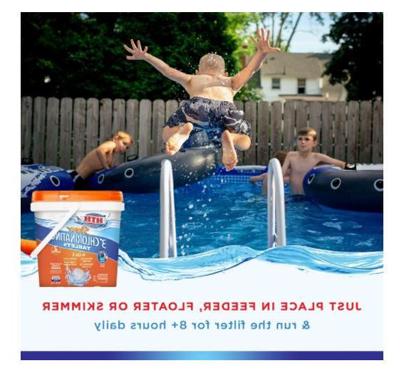 HTH 42033 Super Chlorinating Tablets for Swimming Pools, 5