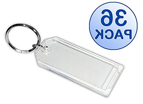 key tag crystal