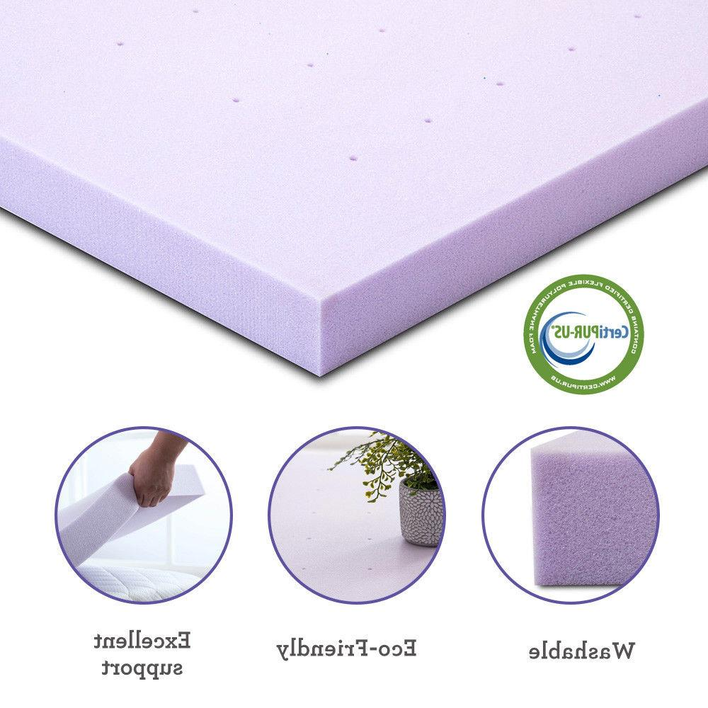 Foam Mattress Full Queen and Size Topper