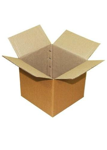 EZELLOHUB Packaging Boxes -4 x 4 3 - 50 Pieces