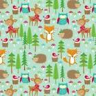 Premium Holiday Recycled/ Christmas Gift Wrapping Paper Kit