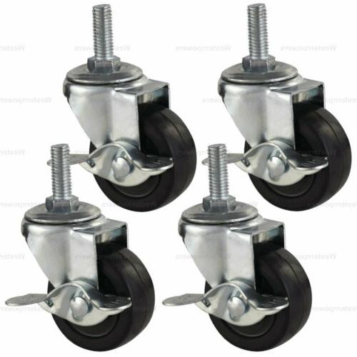 rubber casters heavy duty safety
