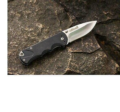 smith x trainer tactical knife black 3