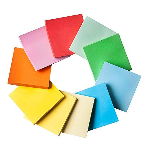 Sticky Notes Bright Memo in 30 Pads/Pack, 70 per pad, TREASY