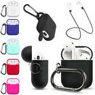 Strap Holder Silicone Protective Case Cover For Apple Airpod
